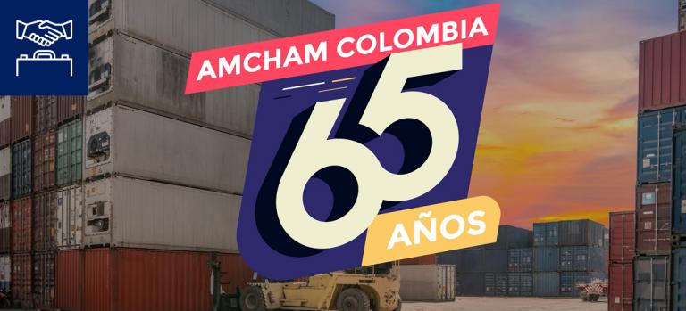 AmCham Colombia cumple 65 años fomentando los negocios entre EE. UU. y Colombia