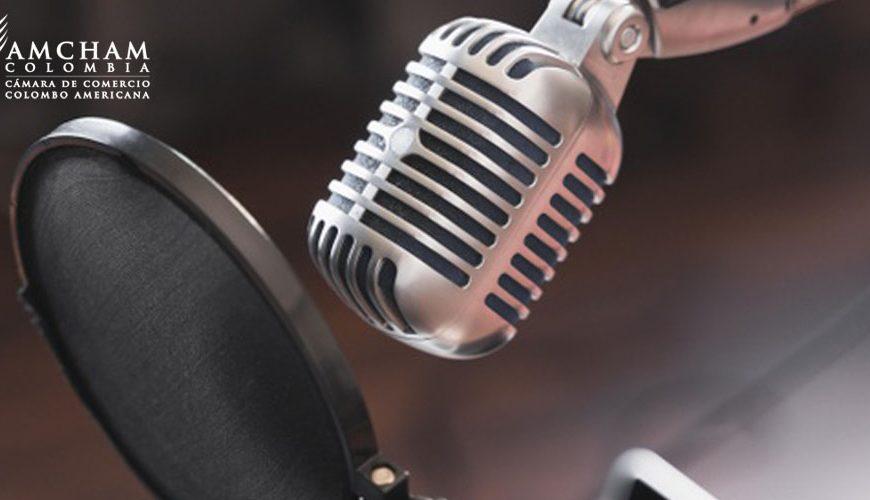 Escuche el más reciente podcast AmCham Colombia