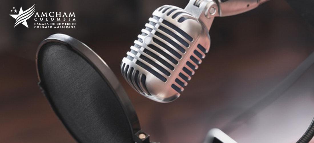 Escuche los más recientes podcasts de AmCham Colombia