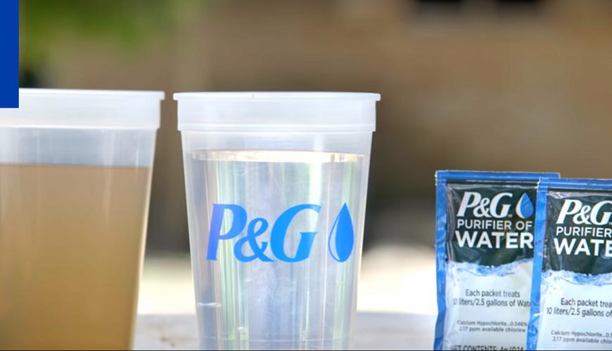 Procter & Gamble, acercando el agua limpia a las comunidades más necesitadas