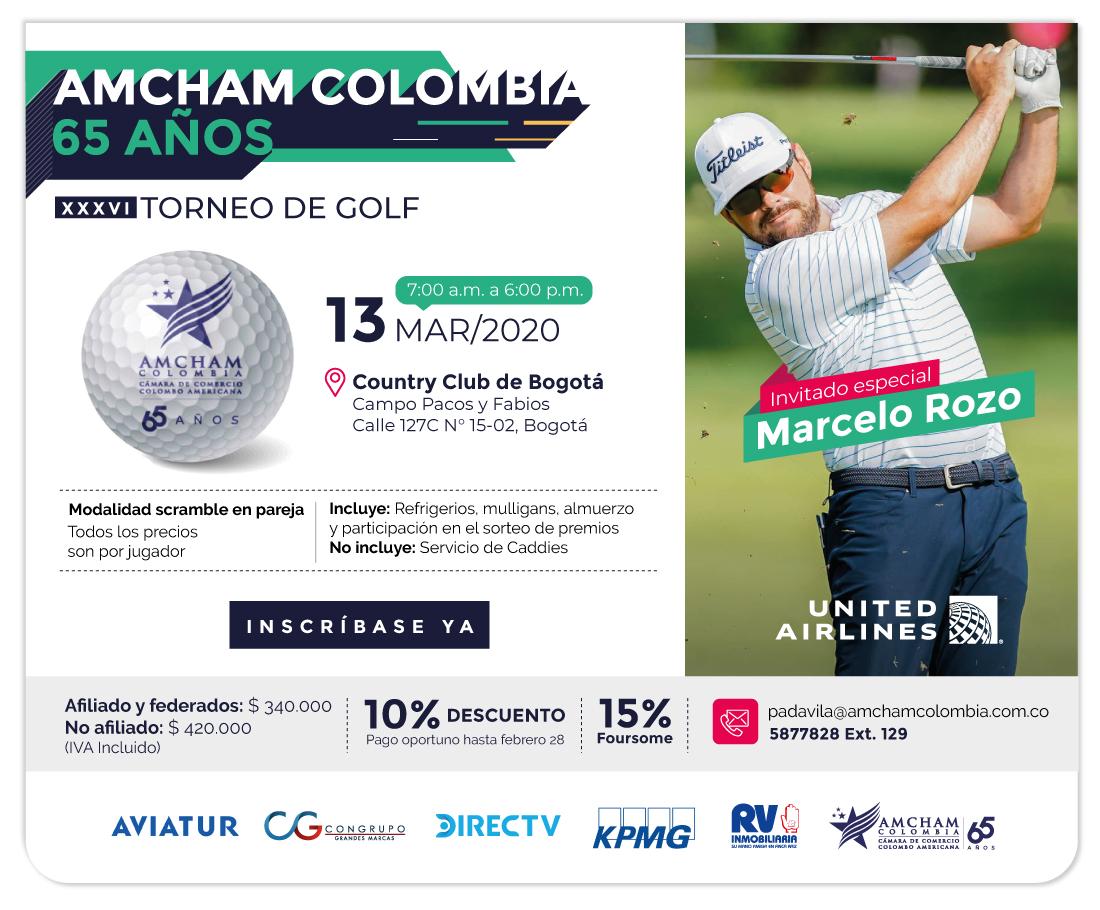 XXXVI Torneo de Golf AmCham Colombia